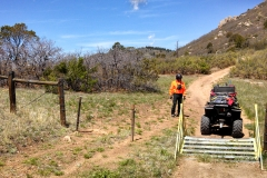 Texas Creek ATV Gate